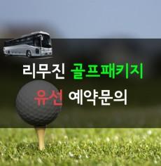 [유선문의]리무진 골프패키지